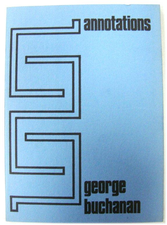 Annotations: Buchanan, George