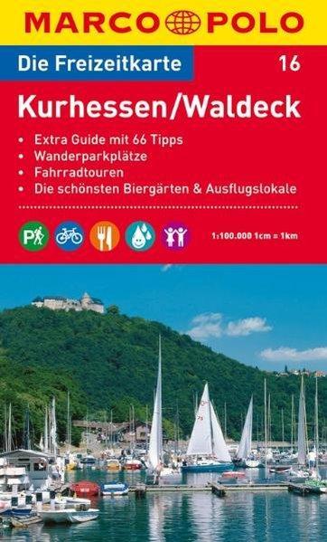 MARCO POLO Freizeitkarte Kurhessen, Waldeck 1:100.000