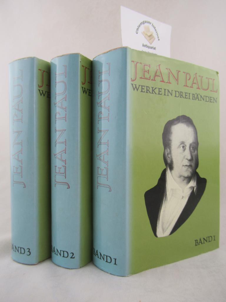 Jean Paul. Werke in DREI (3) Bänden.: Miller , Norbert