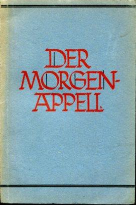 Der Morgenappell in der deutschen Schule. Hrsg.: Seibold, Karl (Hrsg.):