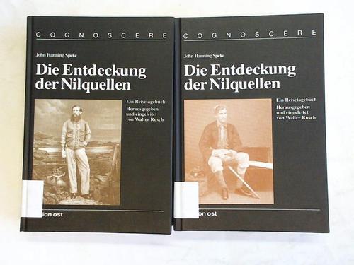 Die Entdeckung der Nilquellen. Reisetagebuch. Band 3/I: Speke, John Hanning
