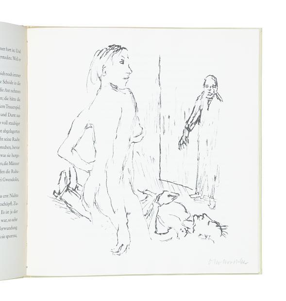 Ann Eliza Reed, Erzählung und Lithographien.: Kokoschka, Oskar.
