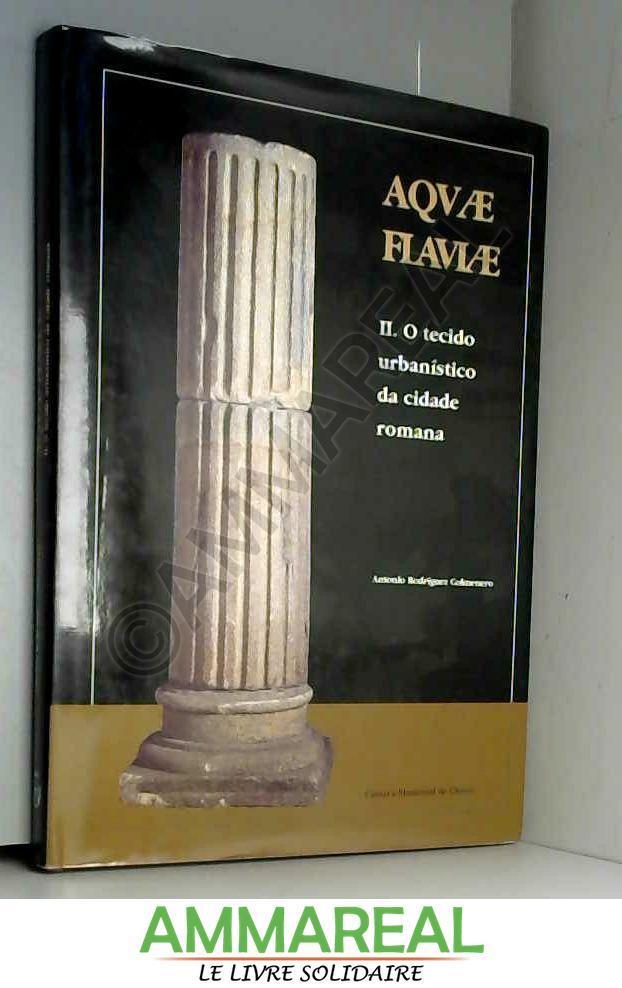 AQVAE FLAVIAE, II: O TECIDO URBANISTICO DA CIDADE ROMANA [Paperback] [Jan 01, 1999] RODRIGUEZ COLMENERO, A. - A. RODRIGUEZ COLMENERO