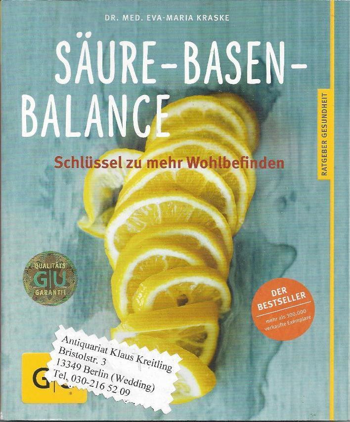 Säure - Basen - Balance. Schlüssel zu: Kraske, Eva-Maria