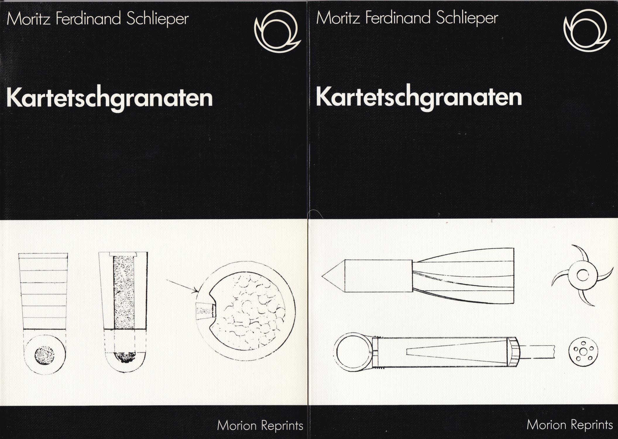 Kartetschgranaten (2 Bde.): Schlieper, Moritz Ferdinand