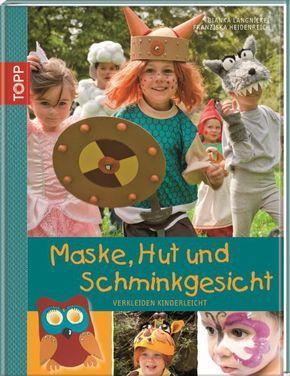 Maske, Hut und Schminkgesicht: Bianka Langnickel, Franziska