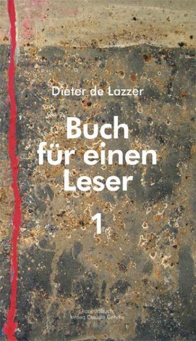 Buch für einen Leser. Bd.1 - Dieter de Lazzer