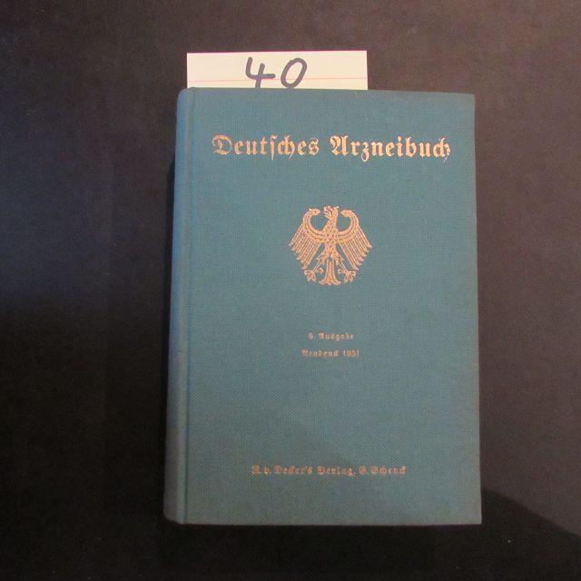 Deutsches Arzneibuch (6. Ausgabe 1926 / Neudruck: Reichsminister des Innern: