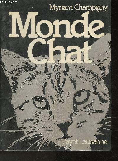 Monde Chat- récit - Champigny Myriam