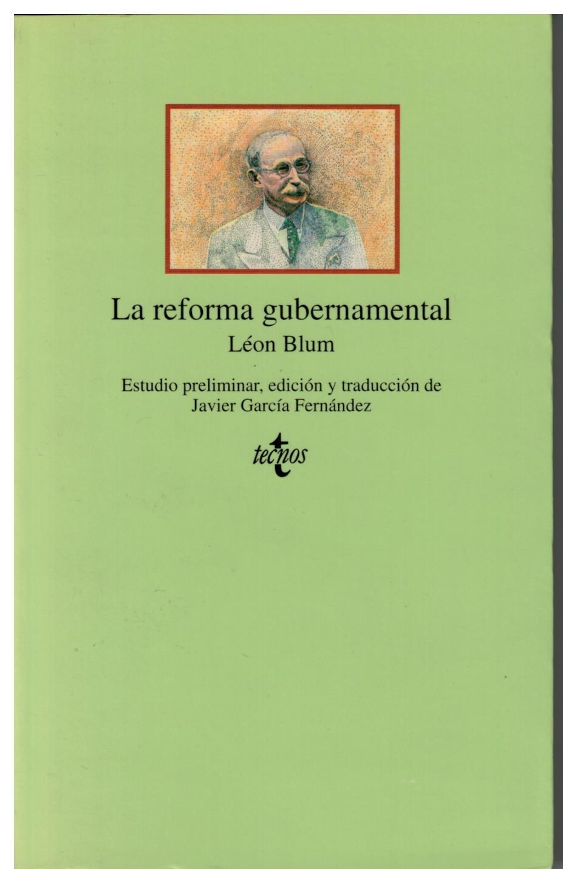 La reforma gubernamental - Blum, León