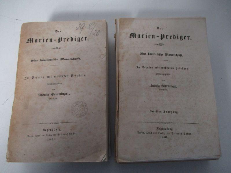 Der Marien-Prediger. EIne homiletische Monatsschrift. (Hier): 1.: Gemminger, Ludwig,