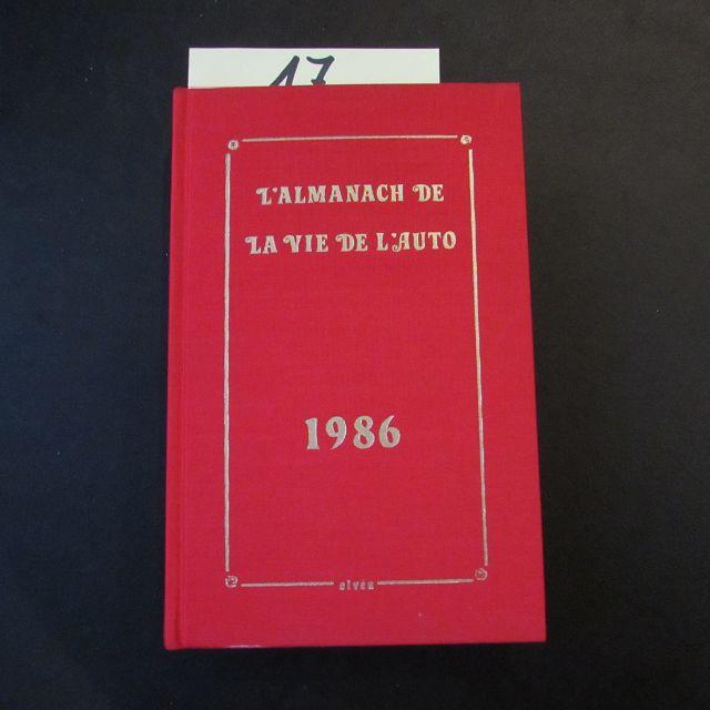 L'Almanach de la vie de L Auto,: Herausgeber nicht ersichtlich: