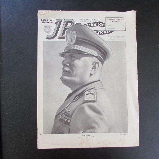 Illustrierter Beobachter - Benito Mussolini (Lesezirkel-Ausgabe, 18.: Loder, Dietrich: