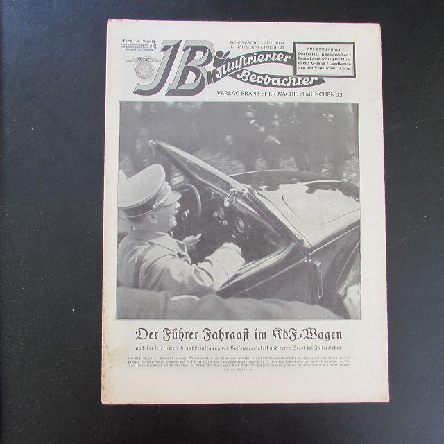 Illustrierter Beobachter - Adolf Hitler (13. Jahrgang,: Loder, Dietrich: