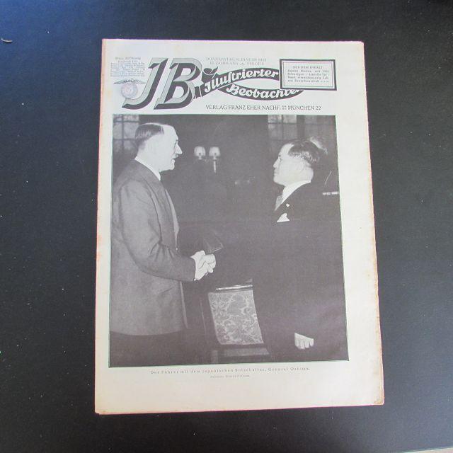Illustrierter Beobachter - Adolf Hitler & General: Loder, Dietrich: