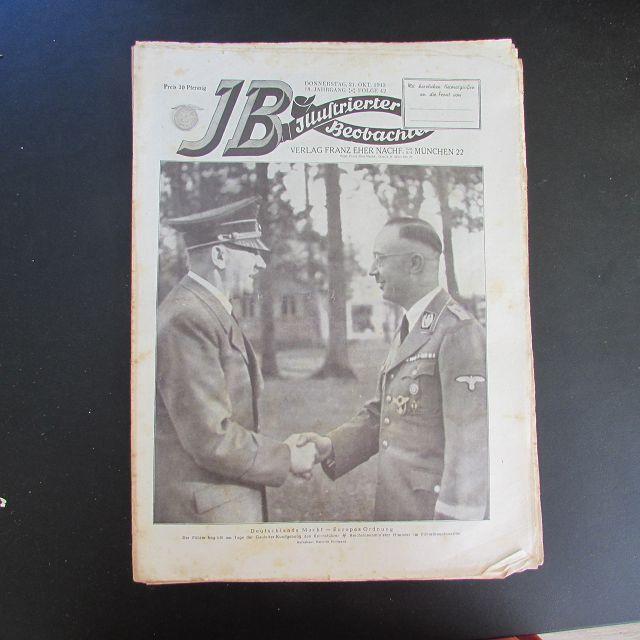 Illustrierter Beobachter - Adolf Hitler & Heinrich: Loder, Dietrich: