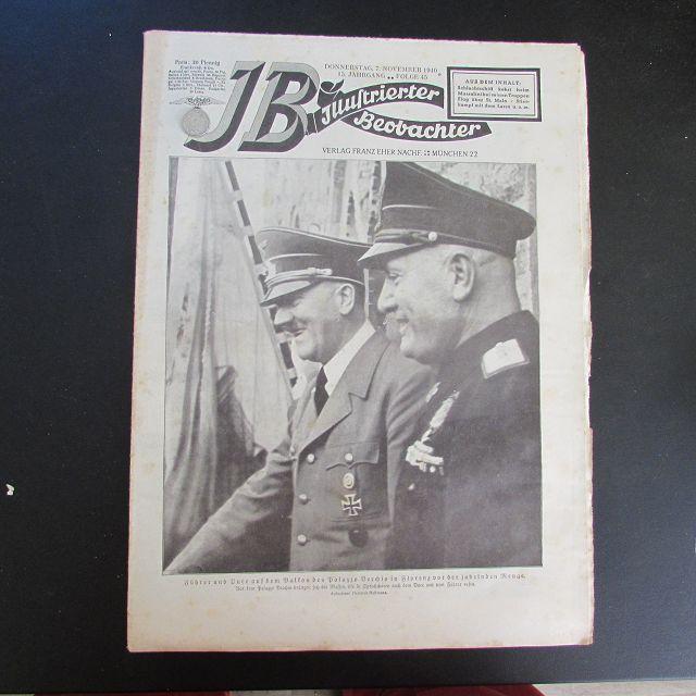 Illustrierter Beobachter - Adolf Hitler & Benito: Loder, Dietrich: