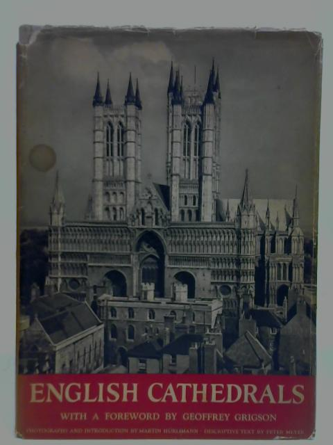 English Cathedrals: Peter Meyer