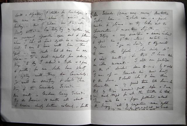 A Letter of Charles Darwin about preparations: DARWIN, Charles.