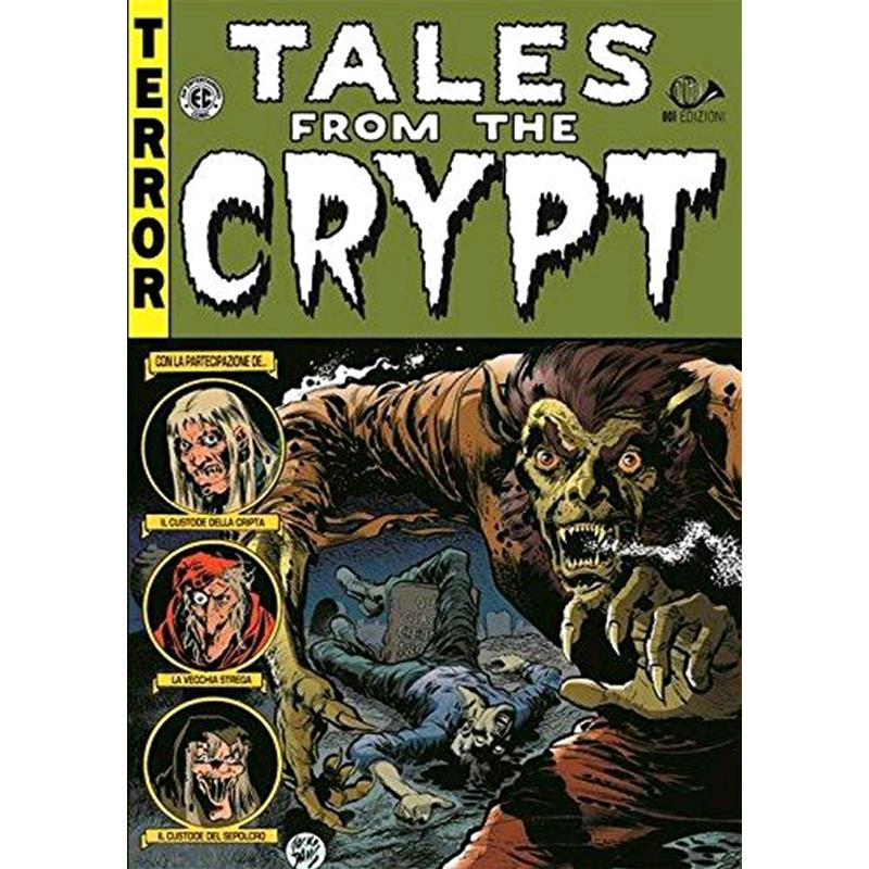EC Classics #11 Tales From the Crypt reprint 1985 magazine size eerie creepy