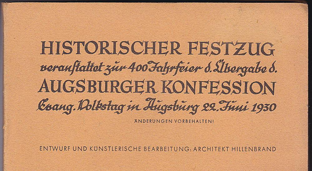 Historischer Festzug veranstaltet zur 400 Jahrfeier d.: Hildebrand