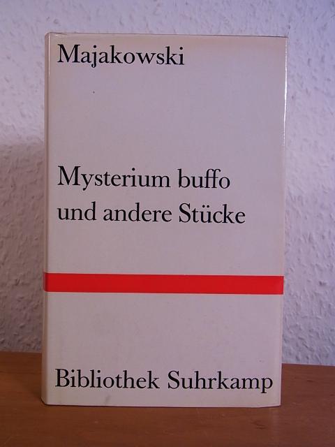 Mysterium buffo und andere Stücke. Bibliothek Suhrkamp: Majakowski, Wladimir: