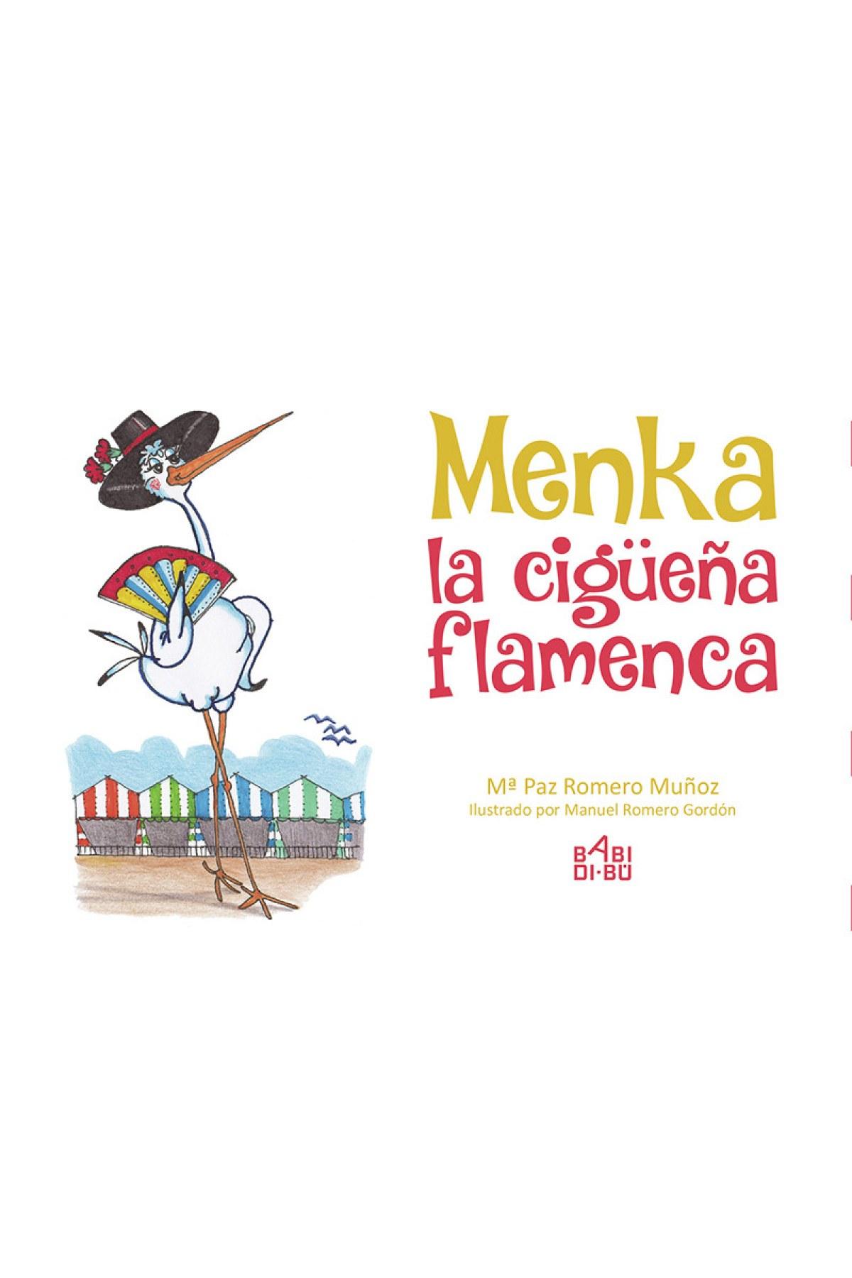Menka, la cigüeña flamenca - Romero Muñoz Mª Paz