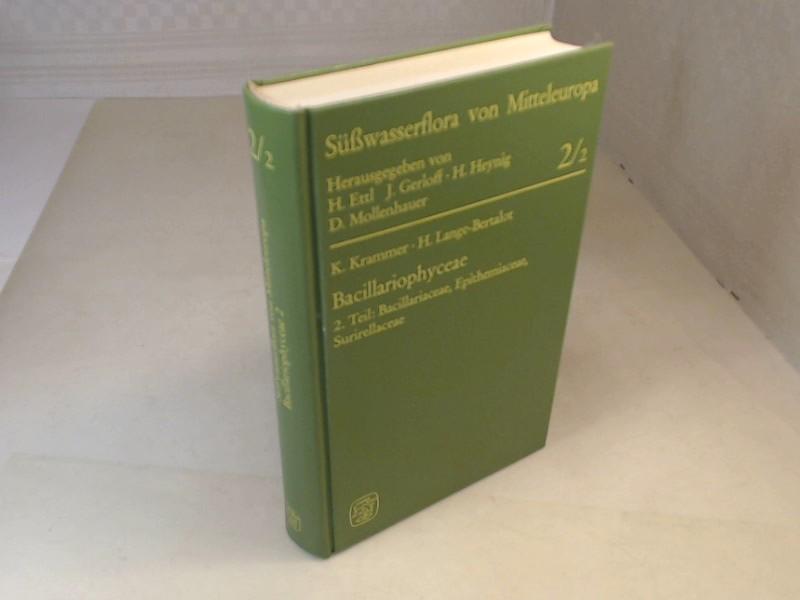 Süßwasserflora von Mitteleuropa. Band 02/2: Bacillariophyceae, Teil: Krammer, Kurt und