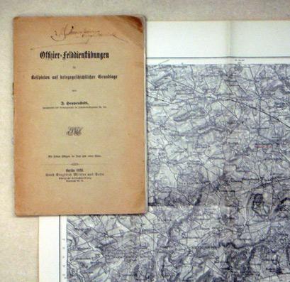 Offizier-Felddienstübungen in Beispielen auf kriegsgeschichtlicher Grundlage.: Hoppenstedt, J