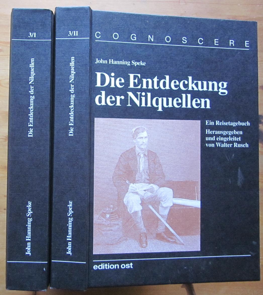 Die Entdeckung der Nilquellen. Ein Reisetagebuch. Herausgegeben: Speke, John Hanning: