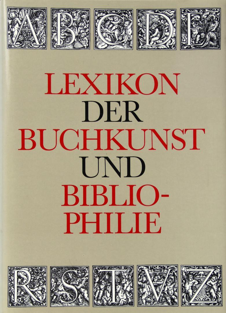 Lexikon der Buchkunst und Bibliophilie.: Walther, Karl Klaus: