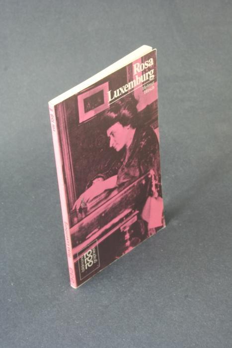 Rosa Luxemburg: mit Selbstzeugnissen und Bilddokumenten. - Hirsch, Helmut, 1907-2009