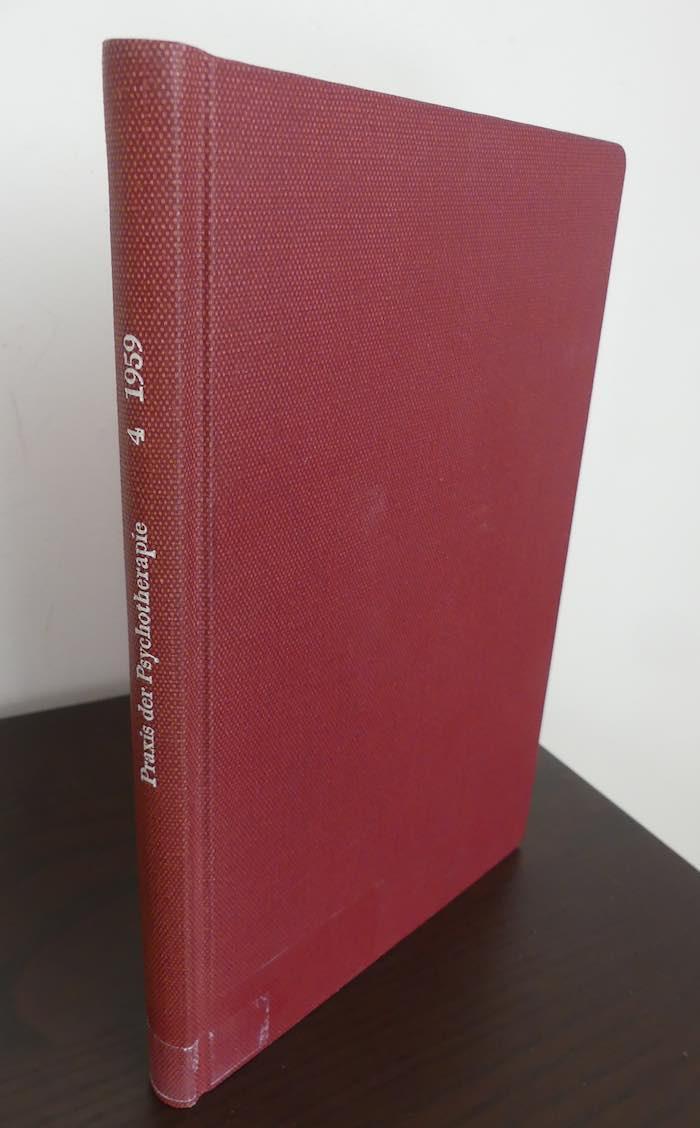 Praxis der Psychotherapie. - Schriftleitung G. Clauser,: Schultz, J. H.