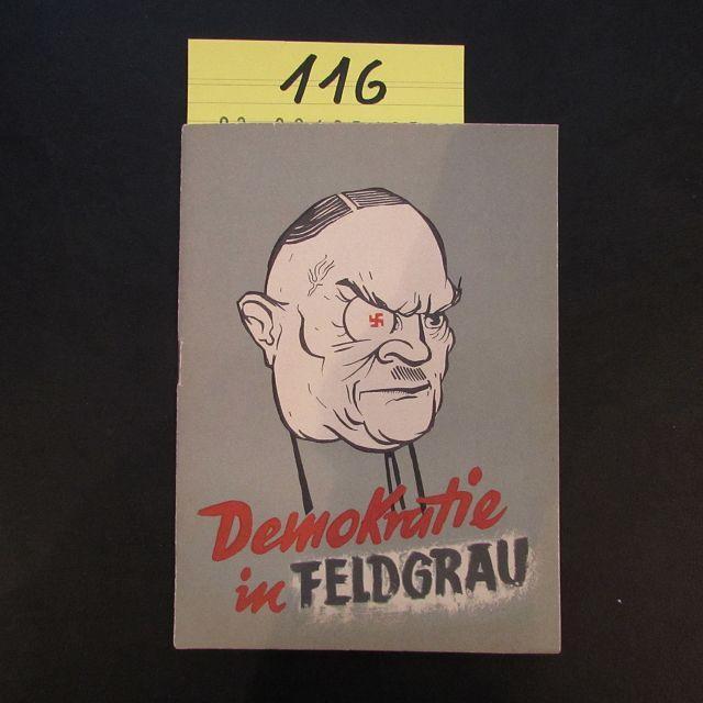 Demokratie in Feldgrau: Herausgeber nicht ersichtlich: