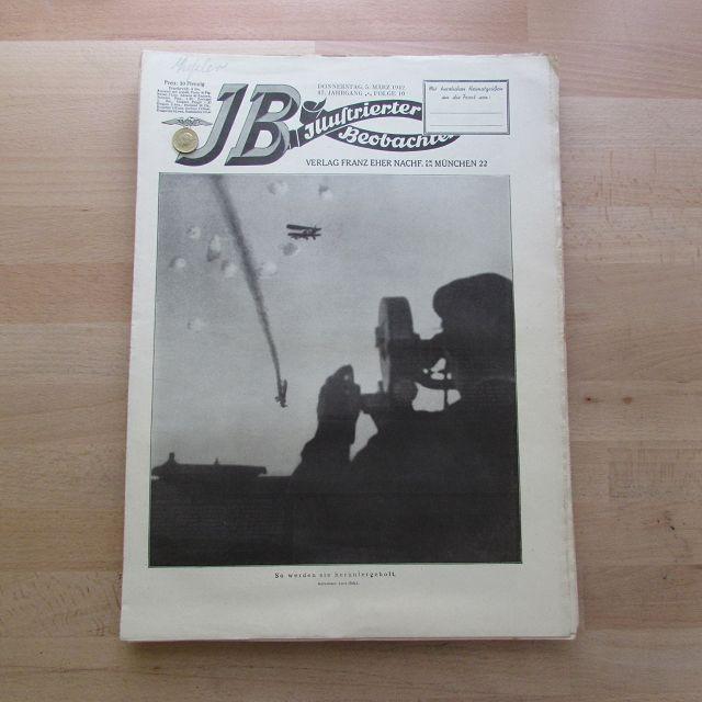Illustrierter Beobachter - Luftkampf (17. Jahrgang, Folge: Loder, Dietrich:
