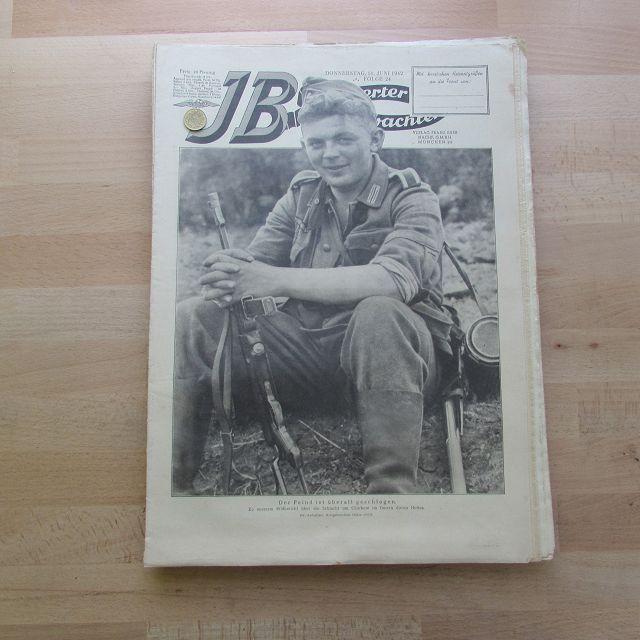 Illustrierter Beobachter - Ostfront Charkow (17. Jahrgang,: Loder, Dietrich: