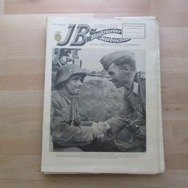 Illustrierter Beobachter - Ostfront Orel (18. Jahrgang,: Loder, Dietrich: