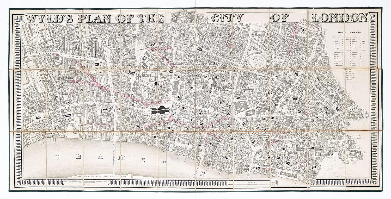 City of London.: WYLD, James.
