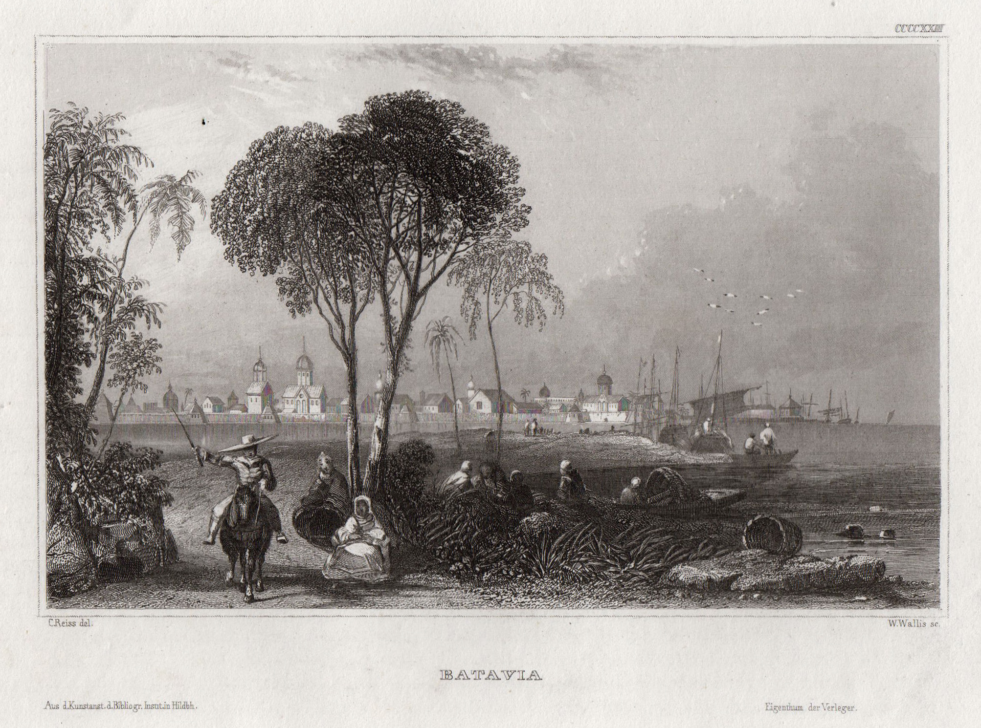 "Gesamtans., ""Batavia"".: Indonesien ( Indonesia"