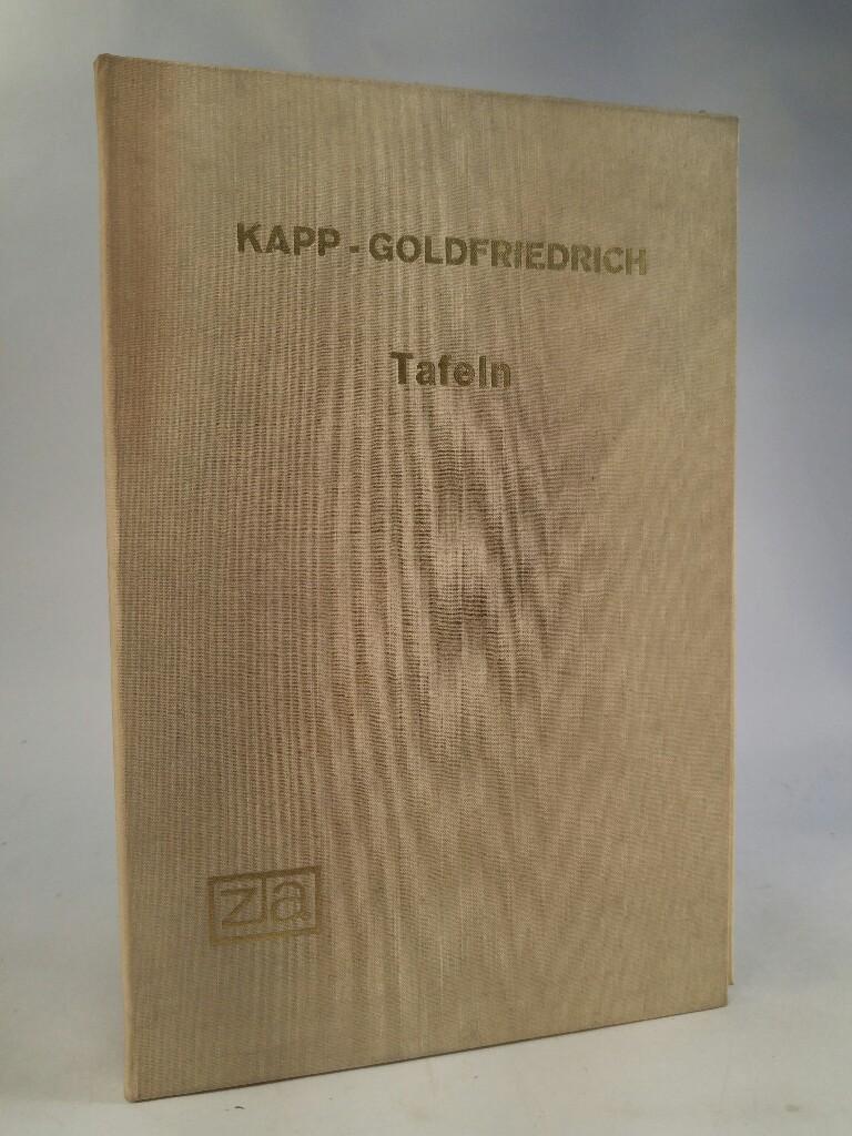 Geschichte des Deutschen Buchhandels bis in das: Kapp, Friedrich und
