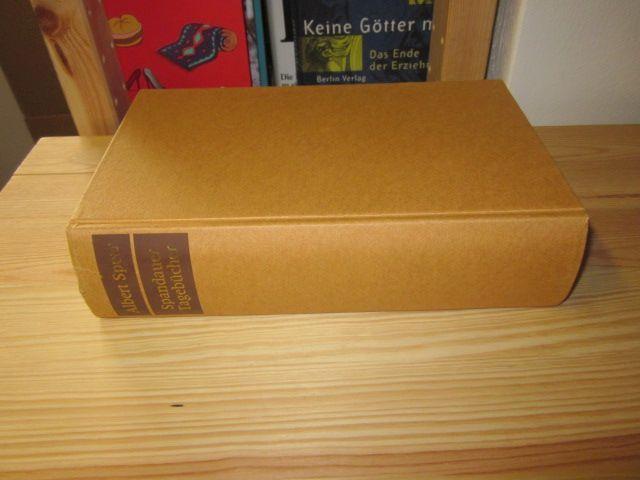 Spandauer Tagebücher: Speer, Albert