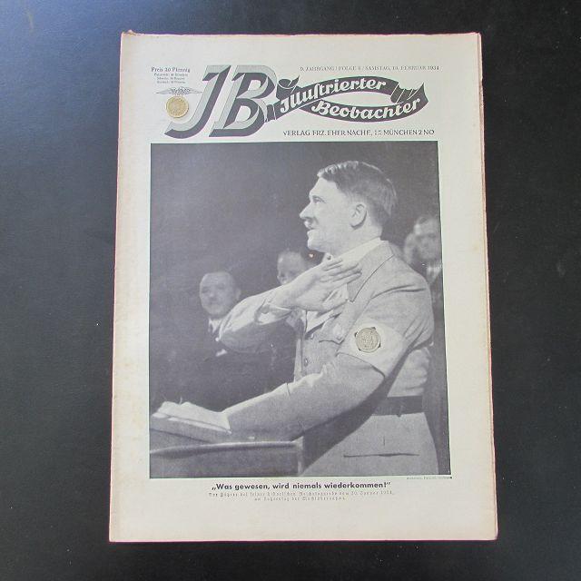 Illustrierter Beobachter - Adolf Hitler Reichstagsrede (9.: Loder, Dietrich:
