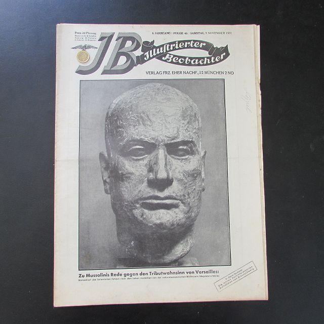 Illustrierter Beobachter - Benito Mussolini (6. Jahrgang,: Loder, Dietrich: