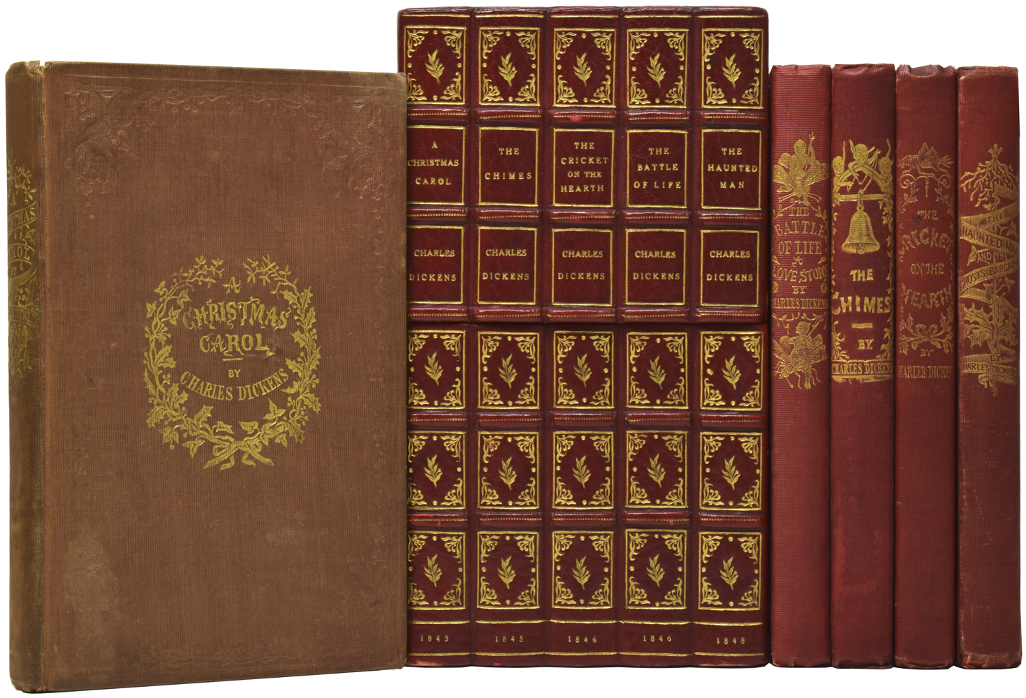 Charles Dickens A Christmas Carol First Edition Seller Supplied Images Abebooks
