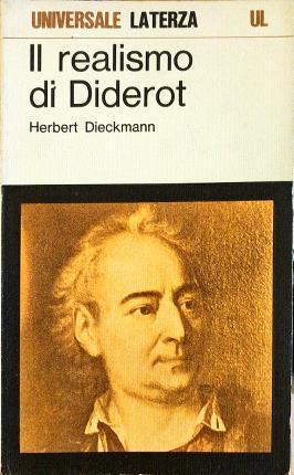 Il realismo di Diderot.: Dieckmann, Herbert