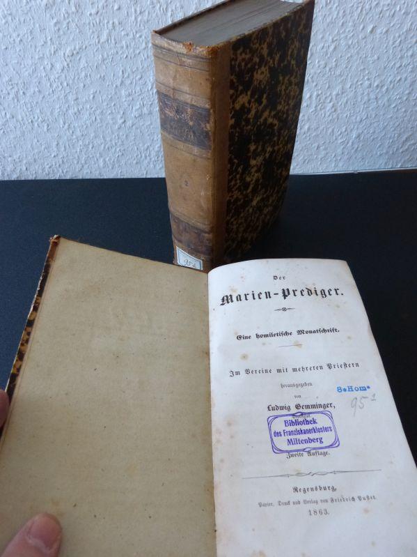 Der Marien-Prediger. Eine homiletische Monatsschrift. 1. und: Gemminger, Ludwig,