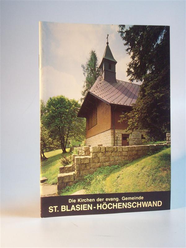 Kirchen der evangelischen Gemeinde St. Blasien Höchenschwand: Becker, Karl Friedrich: