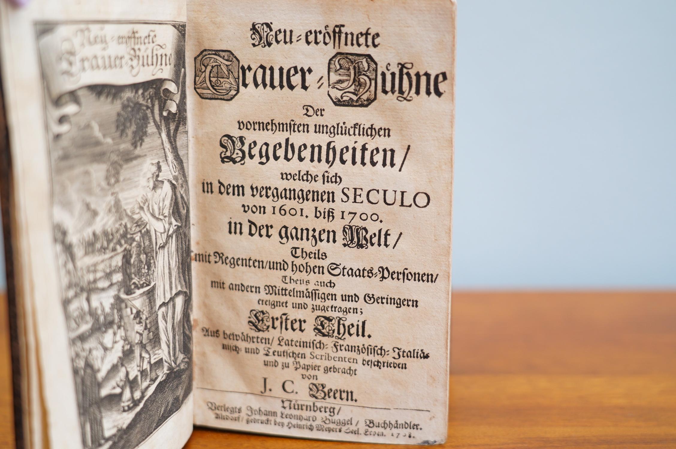 Neu-eröffnete Trauer-Bühne: Johann Christoph Beer