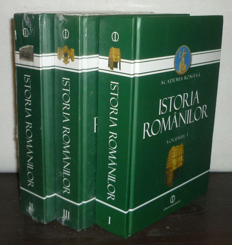 Istoria Romanilor. [Coordinatori: Mircea Petrescu-Dimbovita, Alexandru Vulpe].: Petrescu-Dimbovita, Mircea und