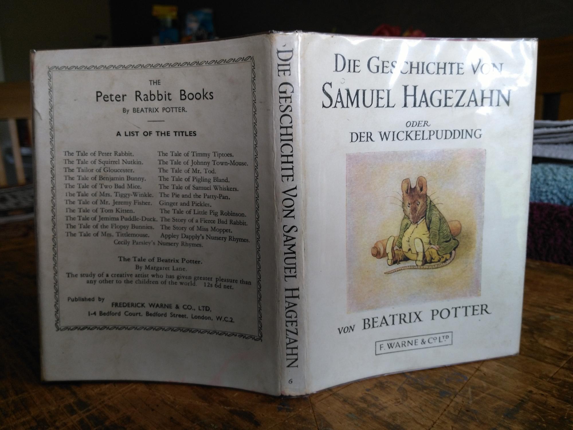 Die Geschichte Von Samuel Hagezahn oder Der Wickelpudding - Beatrix Potter